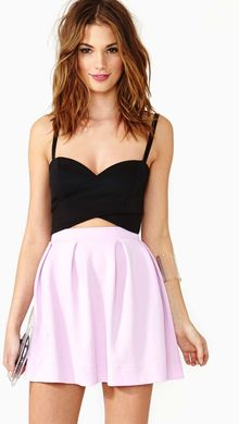 Nasty Gal Under Wraps Bustier Black - Lyst