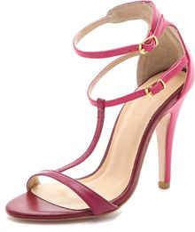 Plomo Liliana Tonal Colorblock Sandals - Lyst