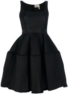 Lanvin Flared Sleeveless Dress - Lyst