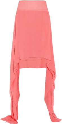 Antonio Berardi Draped Silk chiffon Skirt - Lyst