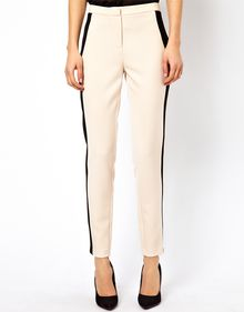 ASOS Collection Tailored Trousers with Conrast Panel - Lyst
