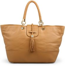 C. Wonder Braided Tassel Pebbled Leather Tote - Lyst
