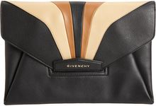 Givenchy Tricolor Antigona Envelope Clutch - Lyst