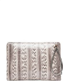 Lanvin Serpent Pouch in Gris - Lyst