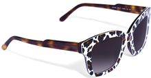 Stella McCartney Leopardprint Acetate Sunglasses - Lyst