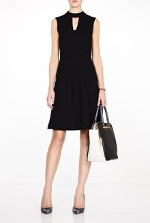 Goat Black Serena Cutout Shift Dress - Lyst