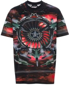 Givenchy Fighter Jet Printed Tshirt - Lyst