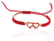 Toosis Hear To Heart Red Bracelet - Lyst