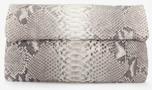 Hunting Season Exclusive Foldover Python Clutch - Lyst