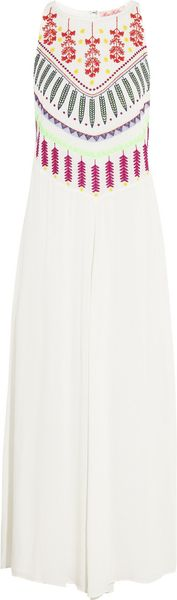 Mara Hoffman Medicine Wheel Embroidered Jersey Maxi Dress - Lyst