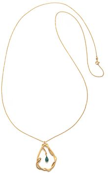 Satya Jewelry Snake Wrap Necklace in Gold - Lyst