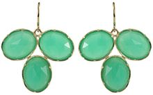 Irene Neuwirth Triple Crysoprase Earrings - Lyst
