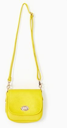 Nasty Gal Electric Flash Bag Yellow - Lyst