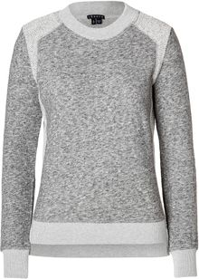 Theory Cotton Wool Goleta Sweatshirt  - Lyst