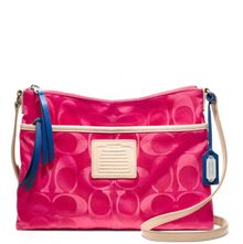 Coach Legacy Weekend Signature Nylon Hippie - Lyst
