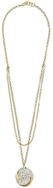 J.Crew Lulu Frost For Jcrew Swirling Waves Pendant Necklace - Lyst