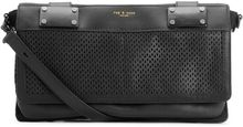 Rag & Bone Pilot Clutch Black Perforated - Lyst