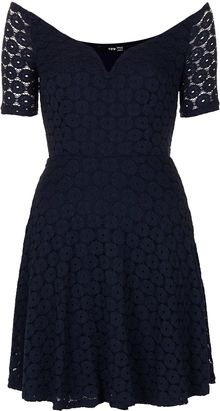 Topshop Babylone Dress By Tfnc - Lyst