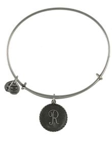 Alex And Ani Initial Bangle - Lyst