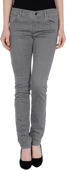 La Via 18 Denim Trousers - Lyst