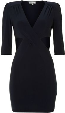 Love Cut Out Midi Dress - Lyst
