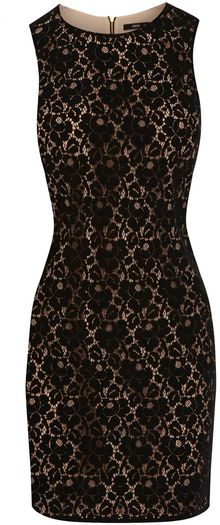 Oasis Lace Shift Dress - Lyst