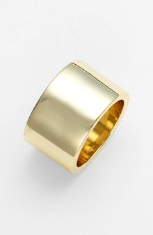Ariella Collection Cigar Band Ring - Lyst