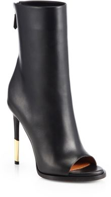 Givenchy Leather Sharkheel Ankle Boots - Lyst
