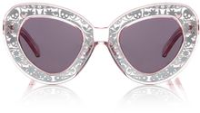 Karen Walker Clear Pink Inter-galactic Sunglasses - Lyst
