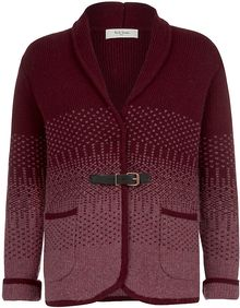 Paul By Paul Smith Fair Isle Cardigan - Lyst