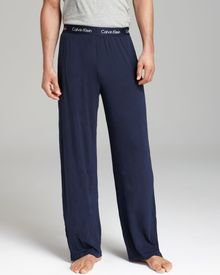 Calvin Klein Lounge Pants with Exposed Waistband - Lyst