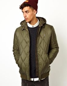 Wesc Quilted Coat Gerber with Hood - Lyst