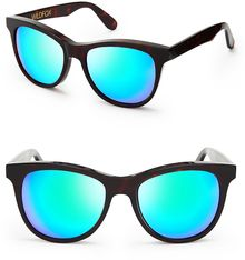 Wildfox Catfarer Deluxe Mirror Sunglasses - Lyst