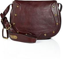 Ralph Lauren Collection Vintage Leather Saddle Bag in Antique Brown - Lyst
