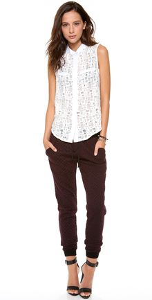 Sea Lace Sleeveless Top - Lyst