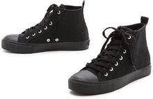 Cheap Monday Base High Top Sneakers - Lyst