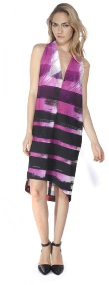 VPL Print Exertion Dress - Lyst