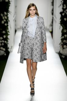 Mulberry Spring 2014 Runway Look 1 - Lyst