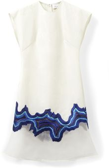 3.1 Phillip Lim Embroidered Geode Flounce Dress - Lyst