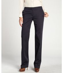 Elie Tahari Midnight Dream Stretch Cotton Pocketed Peyton Bootcut Pants - Lyst