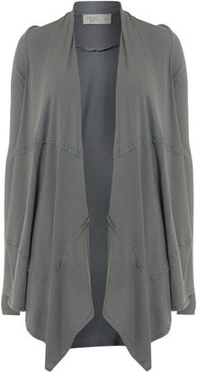 Label Lab Jersey Waterfall Cardigan - Lyst
