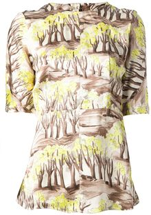 Marni Tree Print Top - Lyst