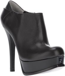 Fendi Platform Ankle Boot - Lyst