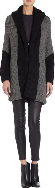 VPL Colorblocked Knit Jacket - Lyst