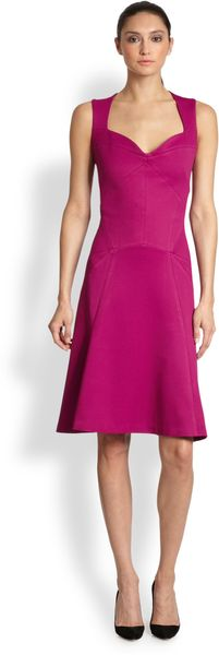 Zac Posen Sweetheart Dress - Lyst
