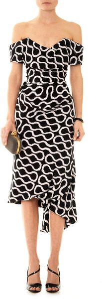 Vivienne Westwood Gold Label Exclusive Cocotte Squiggleprint Dress - Lyst