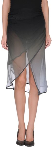 Haider Ackermann Knee Length Skirt - Lyst
