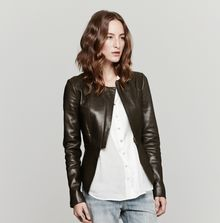 Wayne Comet Leather Jacket - Lyst