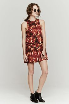 Wayne Solaris Dress - Lyst