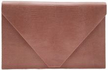 Hunting Season Lizard Print Envelope Clutch - Lyst